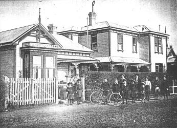 thumbnail of Cabragh House School (now a guest house) taken in about 1906 and sent from Australia