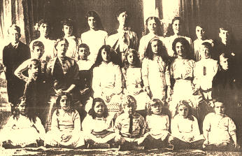 thumbnail of Cabragh House School portrait taken in about 1906 in the Nelson-Tasman region of the South Island of New 