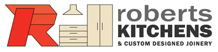 Roberts Kitchens and custom designed joinery logo
